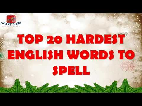 Difficult Words to Spell Chart - TCR7728 | Teacher Created