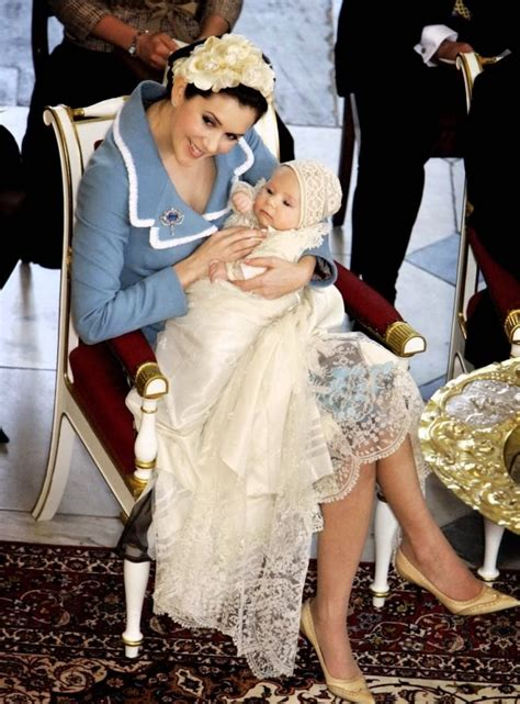 Mary from the start: Prince Christian's christening