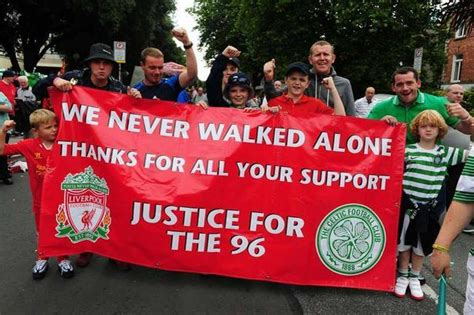Celtic in touching tribute to the 96 victims of the