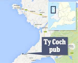 Remote pub in Wales named third best beach bar in the