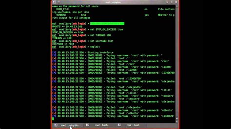 Metasploit: Attacking Secure Shell (SSH) Logins (Part 2